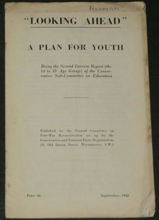 Looking Ahead - A Plan for Youth (September 1942)